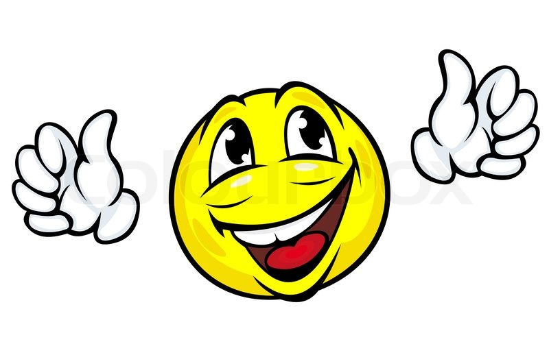 glad smiley stock foto colourbox