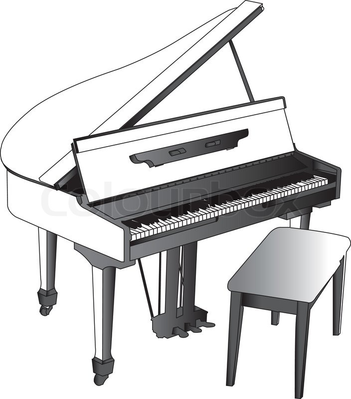 Piano Vector Eps