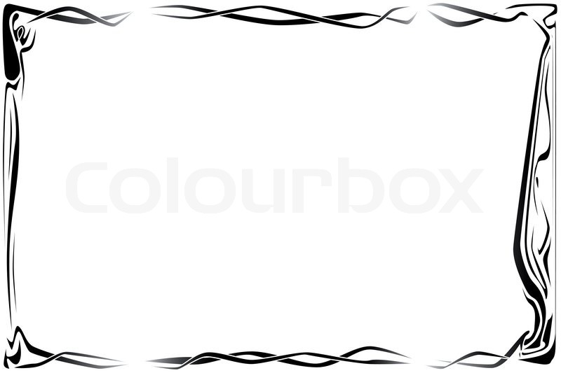 art deco style page border stock vector colourbox rh colourbox com art deco frame vector free download art deco frame free vector