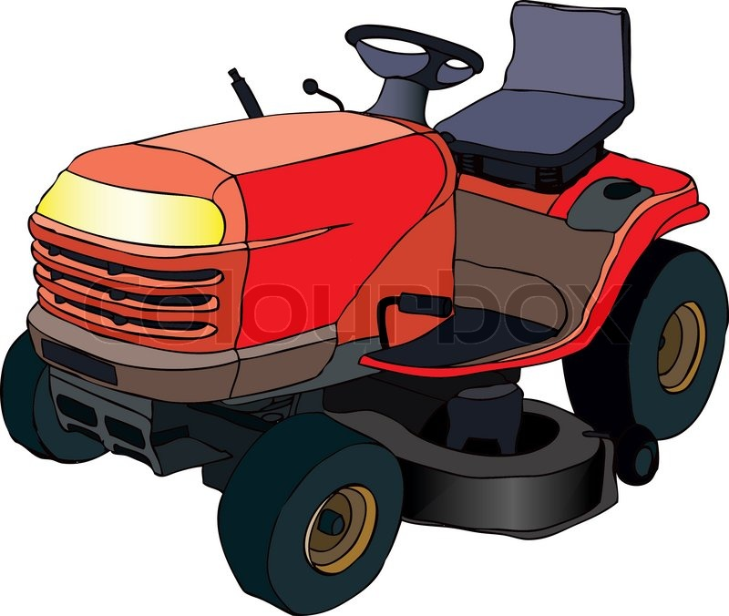 lawn mower vector - photo #46