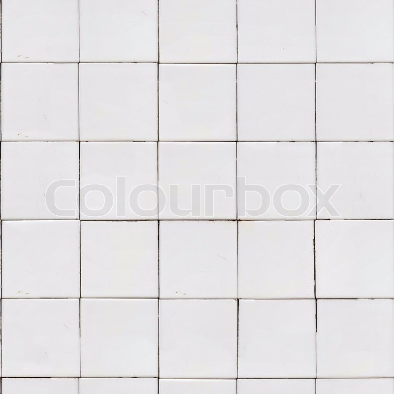 white old tile wall seamless tileable texture stock. Black Bedroom Furniture Sets. Home Design Ideas