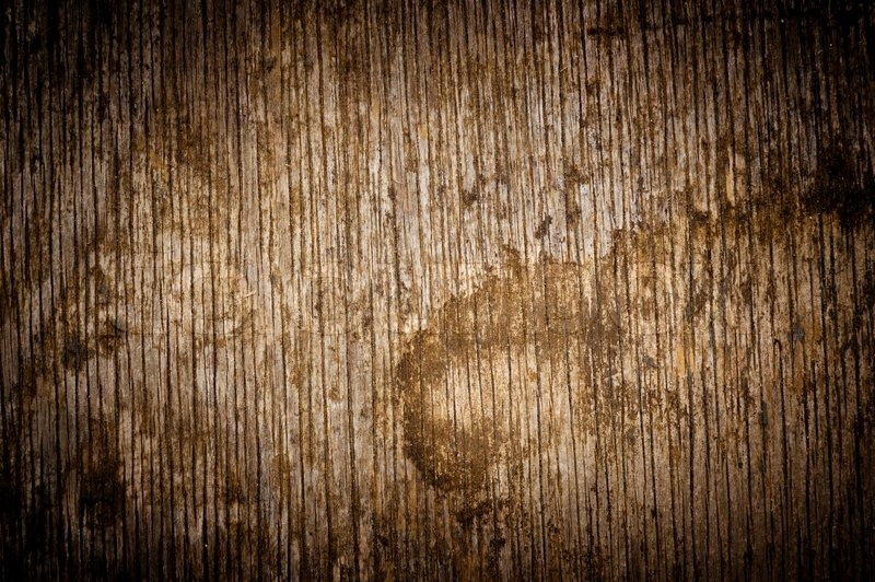 Dark Texture Of Vintage Grungy Old Wood Stock Photo