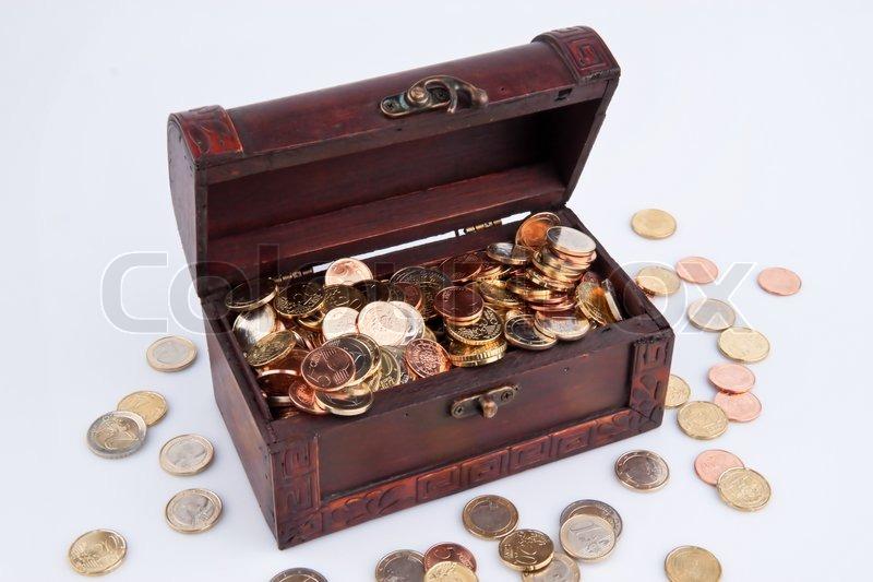 Tom statskassen gæld i budgettet | Stock foto | Colourbox