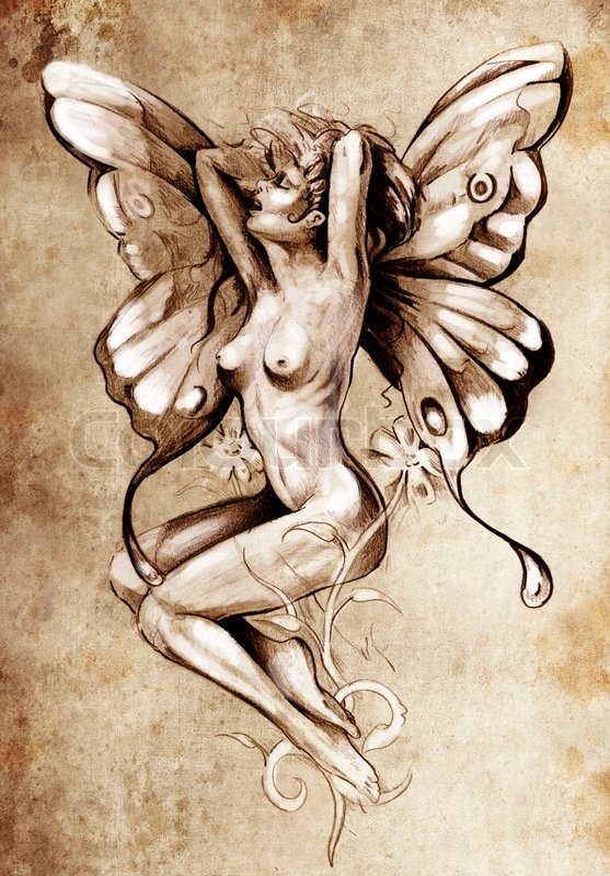 Insect Girl Nude