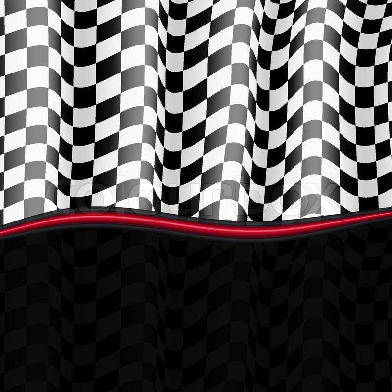 Racing Checkered Flag >> Racing Background Checkered Flag Vector eps10 | Stock ...
