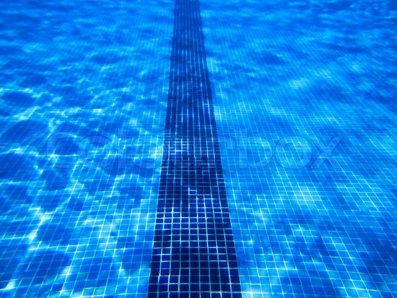 Swimming Pool Underwater Stock Photo Colourbox