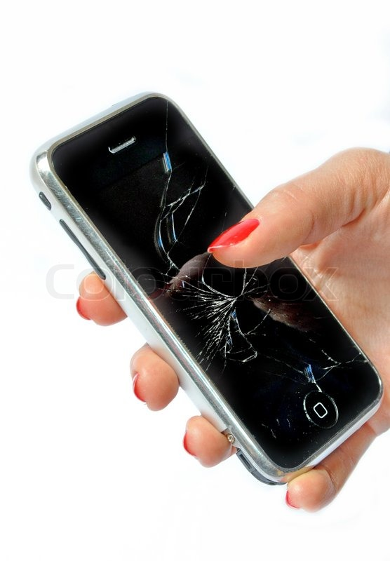 how to fix a broken cell phone screen