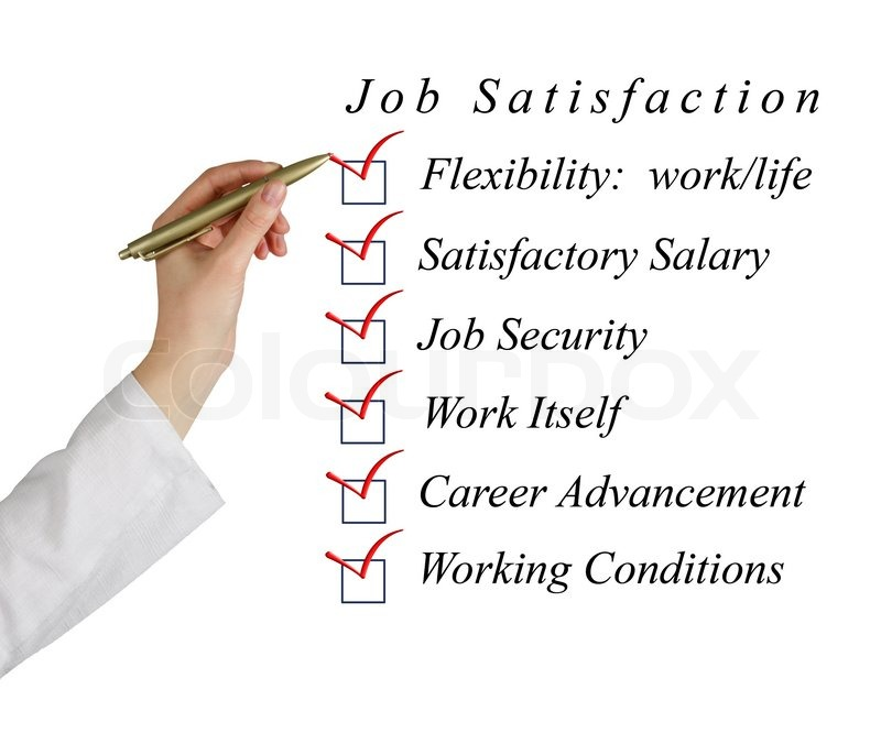 job satisfaction versus job security In a 2010 review, brent d rosso, phd, and colleagues noted that finding meaning in one's work has been shown to increase motivation, engagement, empowerment, career development, job satisfaction, individual performance and personal fulfillment, and to decrease absenteeism and stress (research in organizational behavior, 2010.
