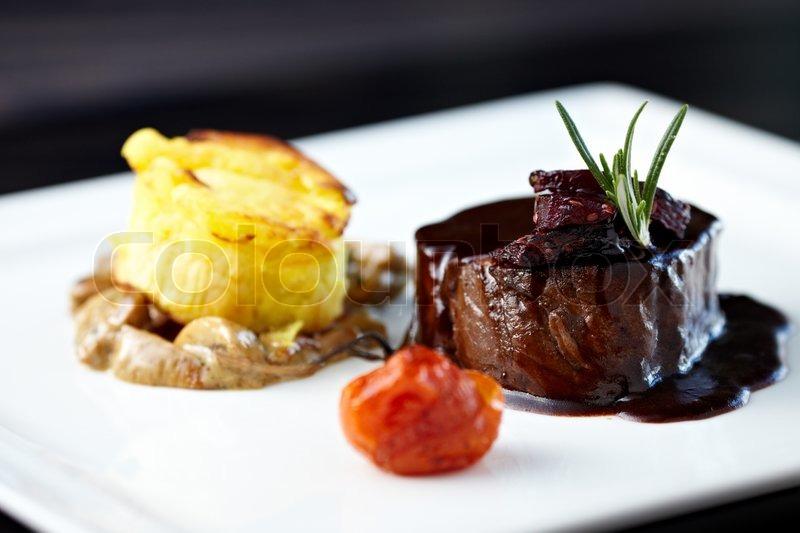 Roasted Beef Tenderloin Image 6411474 on Us My Healthy Plate