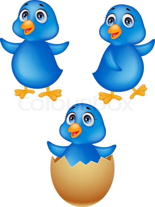 baby bird cartoon stock vector colourbox rh colourbox com big baby bird cartoon baby bird cartoon pictures