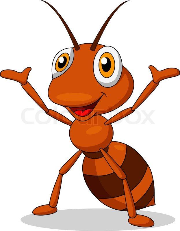 Картинки мультяшные муравьи
