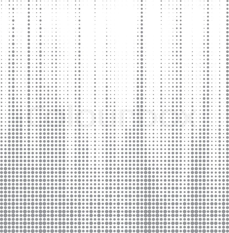 Line Art Vs Halftone : Dot halftone abstract vector background stock