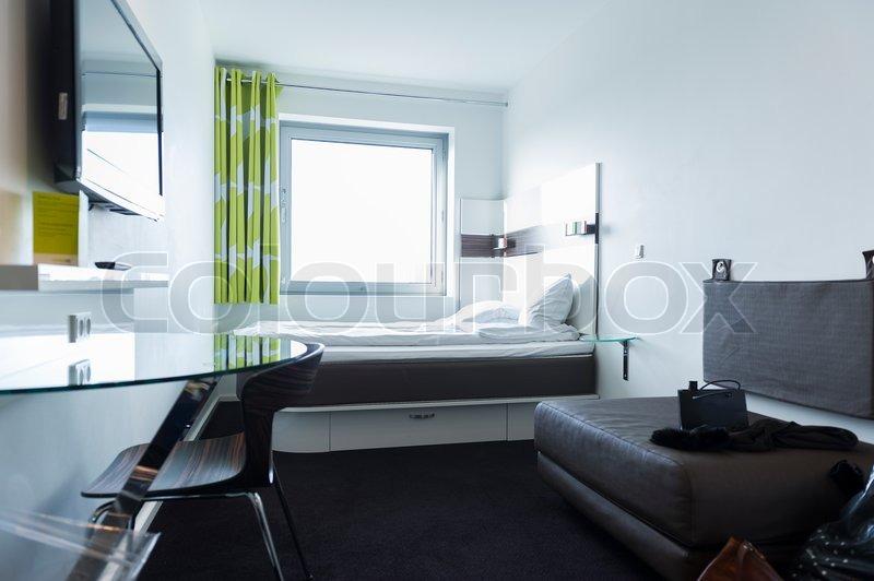 Stylish studio apartment interior stock photo colourbox for Bedsitter interior design