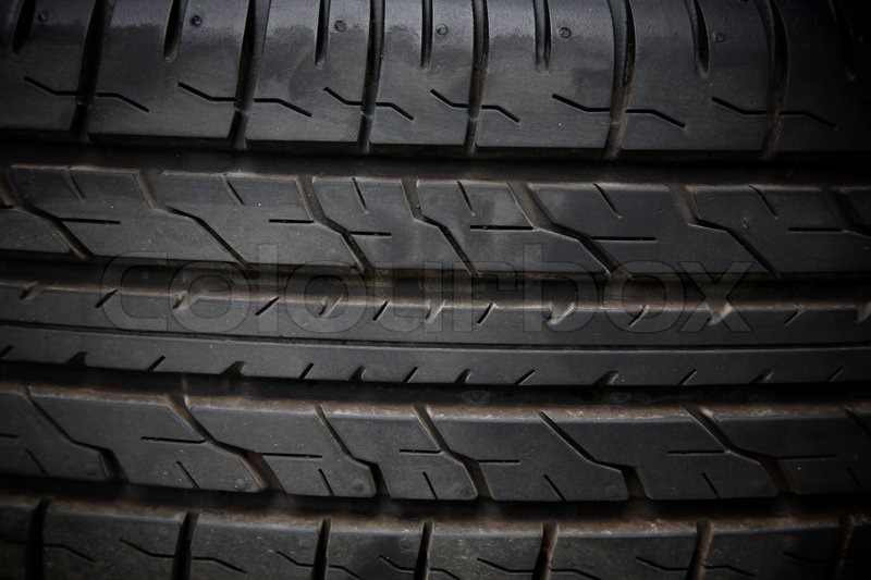 Grunge Tyre Texture Stock Photo Colourbox