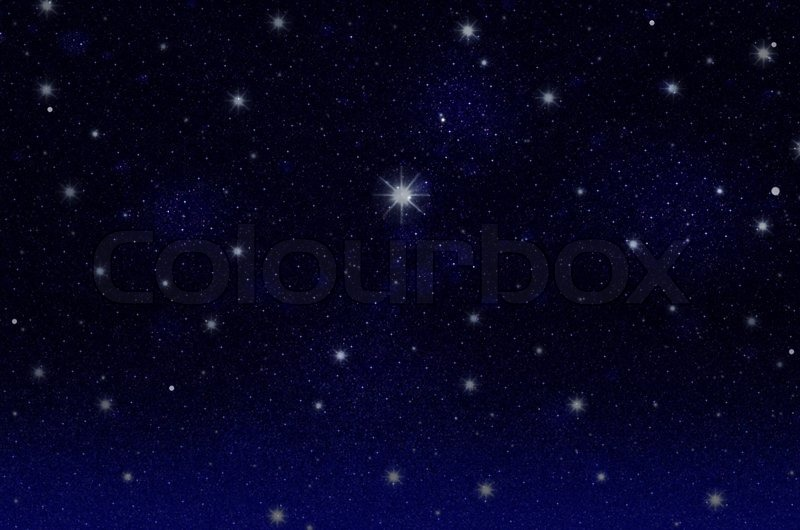 night stjernehimmel