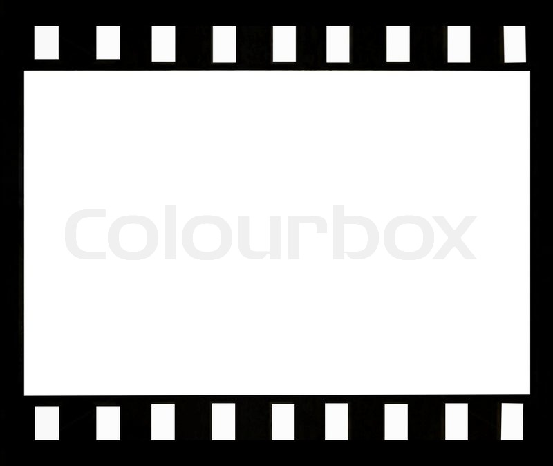 Abstract film strip frame | Stock Photo | Colourbox