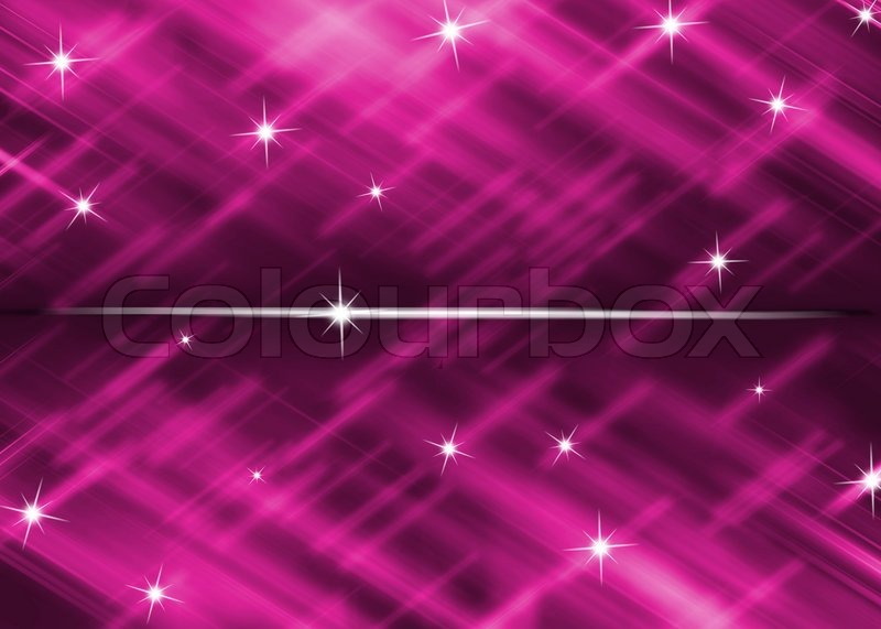 pink background with star glitter abstract stock photo
