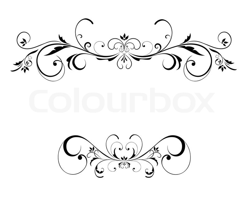 Wedding floral frame stock vector colourbox junglespirit Images