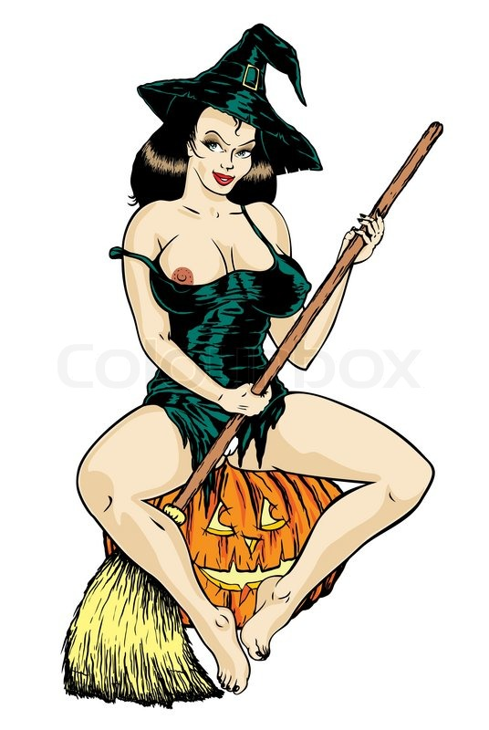 from Kamryn nude girl on a broomstick