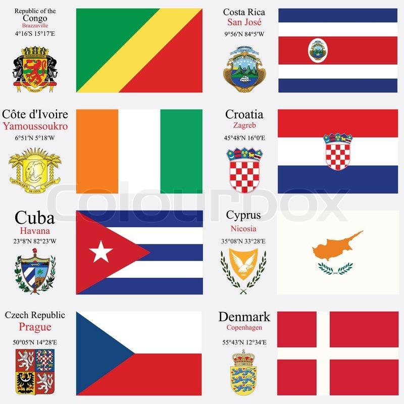 alle hovedstæder i verden