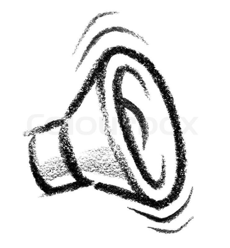 Lautsprecher-Symbol | Stockfoto | Colourbox