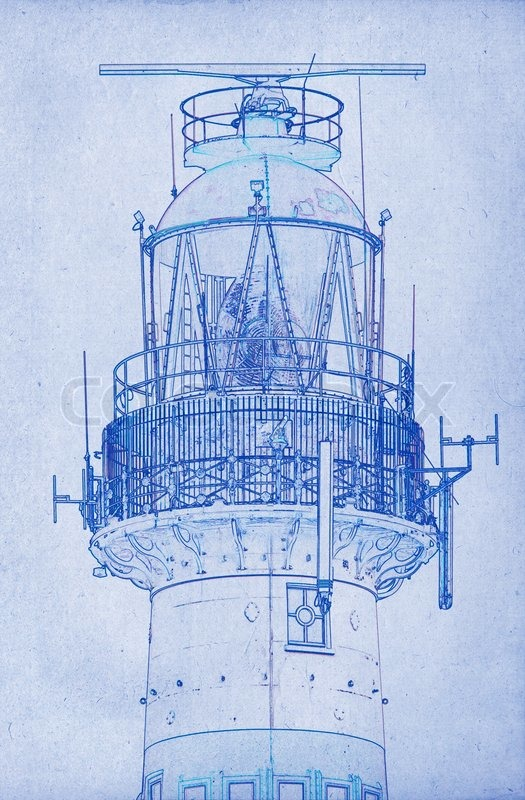 Drawing of a lighthouse stock photo colourbox malvernweather Images