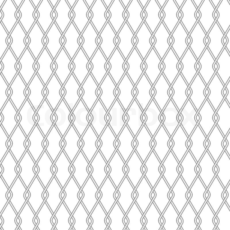 Wire fence background | Stock Vector | Colourbox