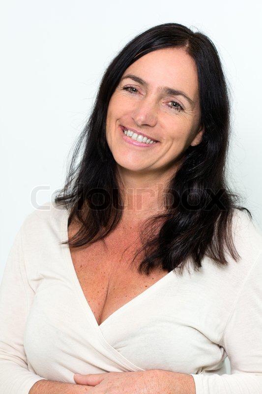 Portrt Eines Gut Aussehenden Reife Frau  Stockfoto -5846