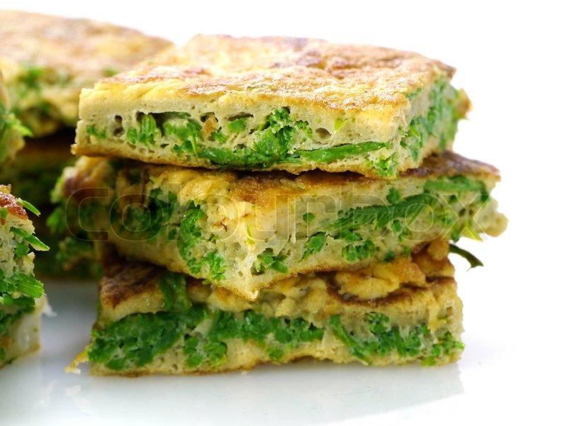 Omelet Stegte Grøntsager Thailand Stock Foto Colourbox