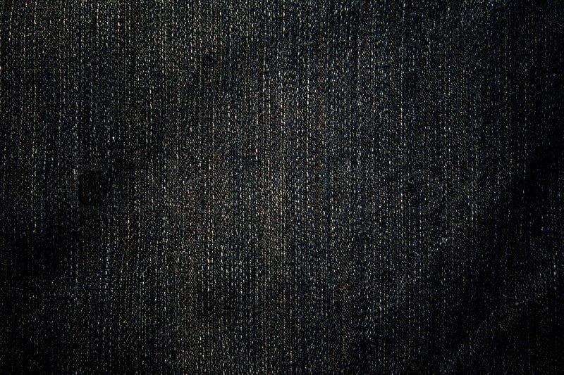 Worn Blue Denim Jeans texture | Stock Photo | Colourbox