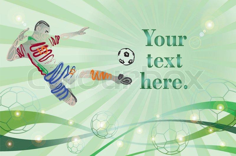 Football tournament banner