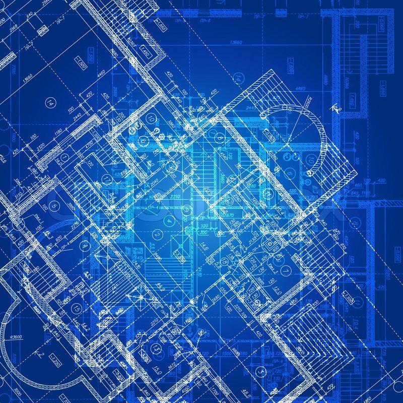 Urban Blueprint (vector). ...