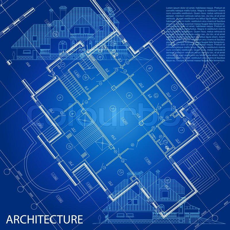 Urban blueprint vector architectural background part of stock vector of urban blueprint vector architectural background part of architectural malvernweather Choice Image