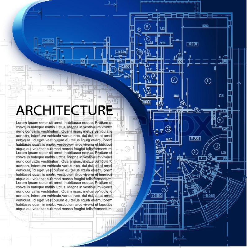 Template With Architectural Design Elements For Your