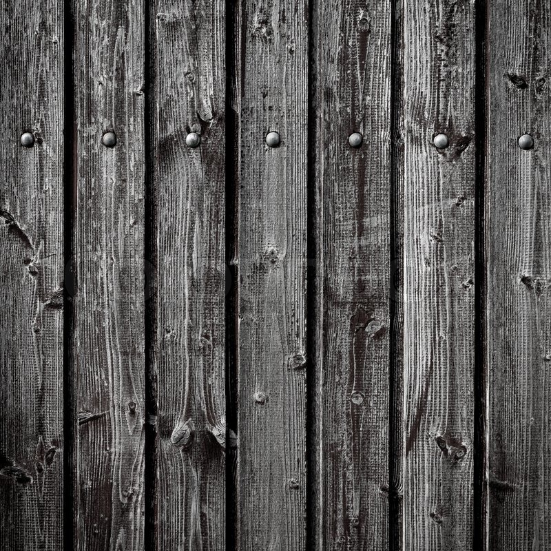 Old wooden fences fence planks as background stock