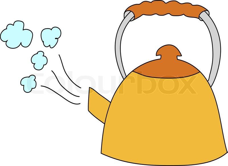 kettle stock vector colourbox coffee pot clipart free coffee pot cartoon clipart