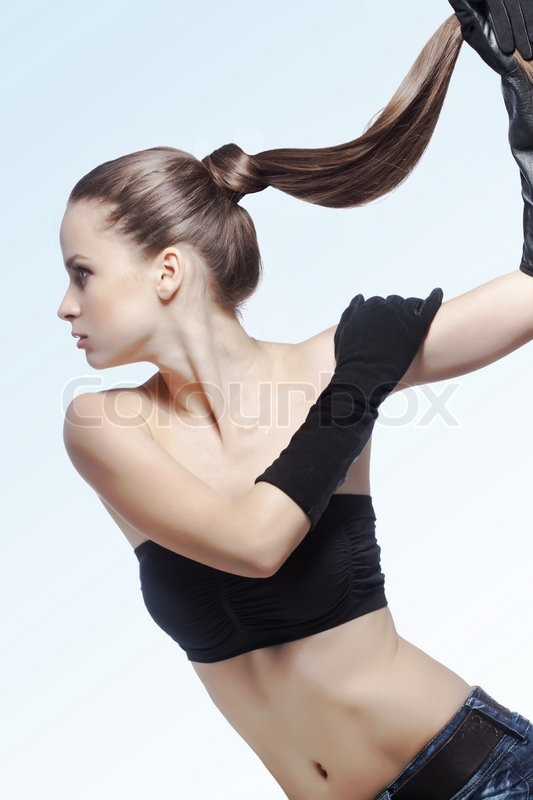 Strong healthy hair | Stock Photo