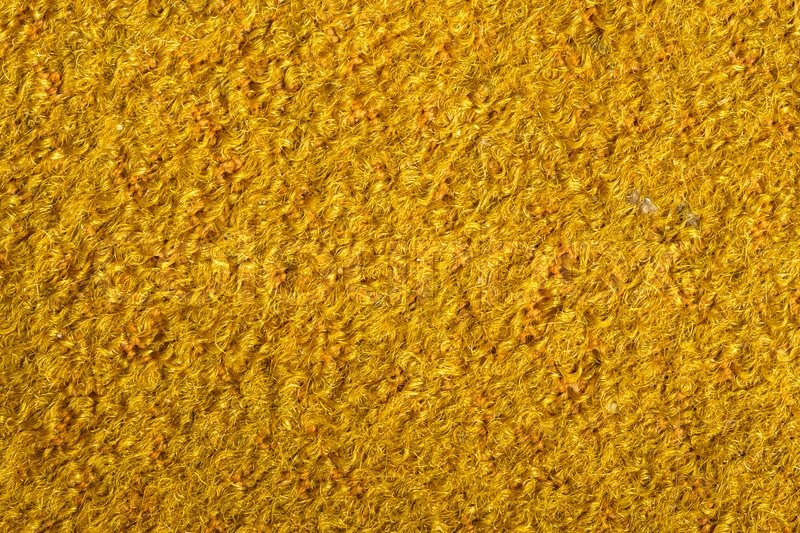Texture Of The Yellow Surface With A Nap In High