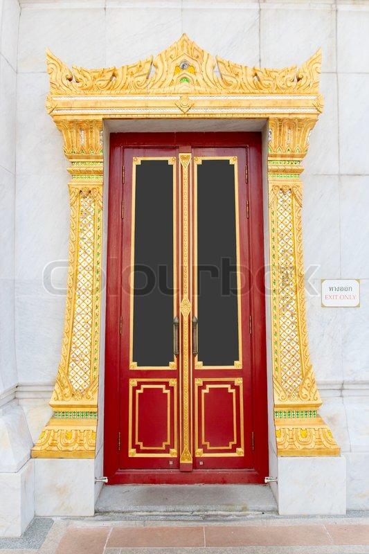 Stock image of \u0027Thai door\u0027 & Thai door | Stock Photo | Colourbox Pezcame.Com