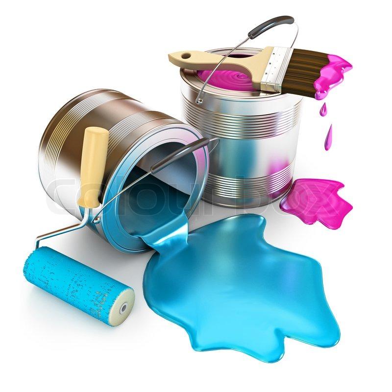 Messy Spray Paint Art