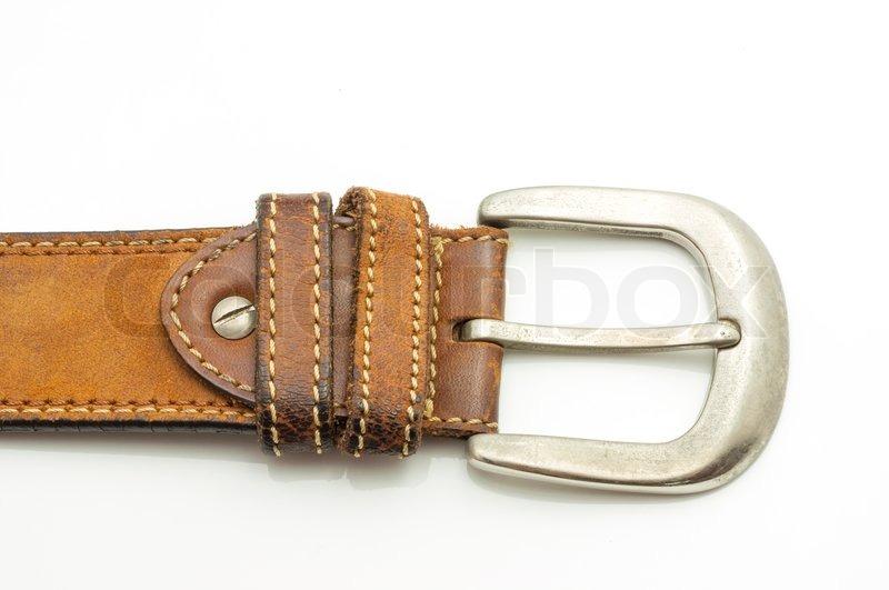 aged leather belt stock photo colourbox