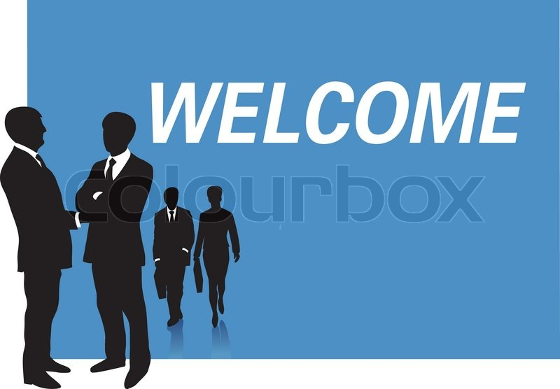 Business presentation welcome | Stock vector | Colourbox