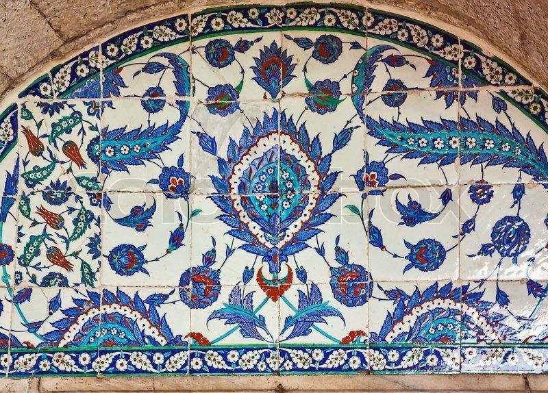 Türkische Keramik Fliesen Istanbul Stockfoto Colourbox - Fliesen auf türkisch
