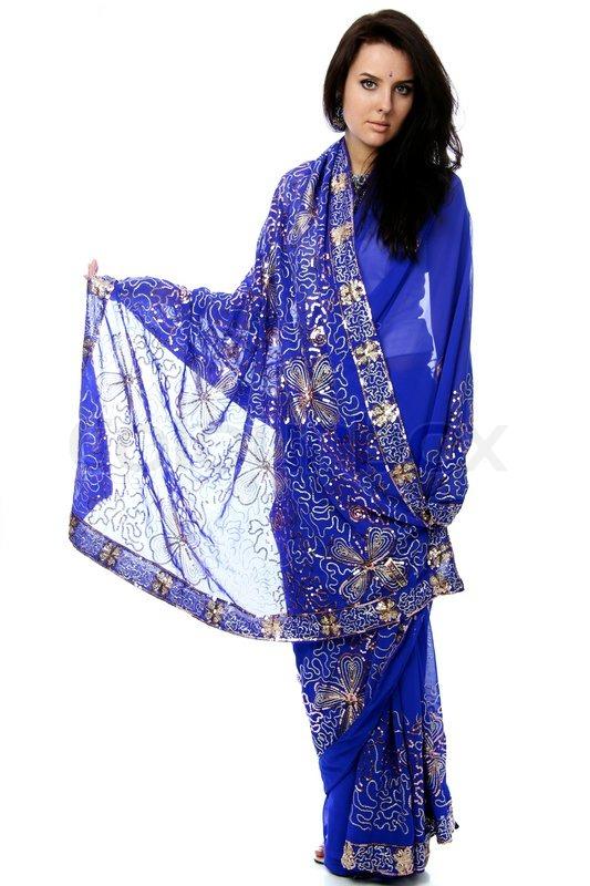 indisk kjole