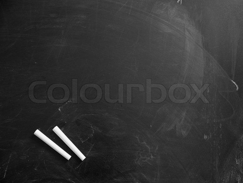 chalkboard background with chalk