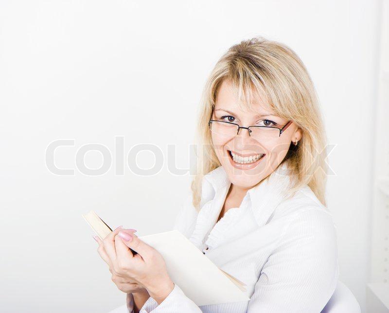 kakaonudel für eine junge blondine