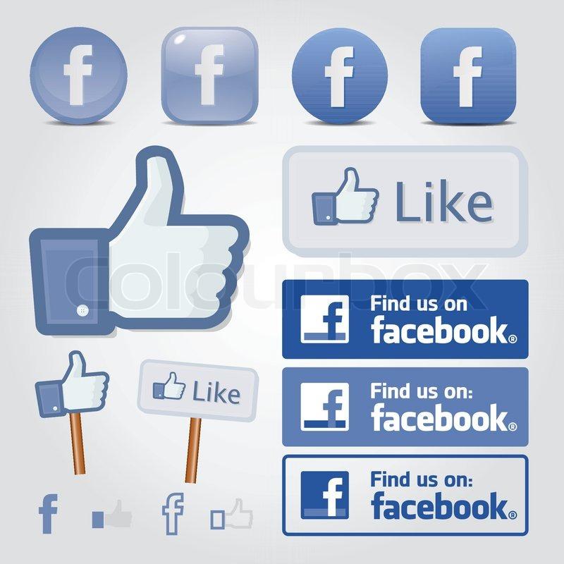 Facebook set icon butt...