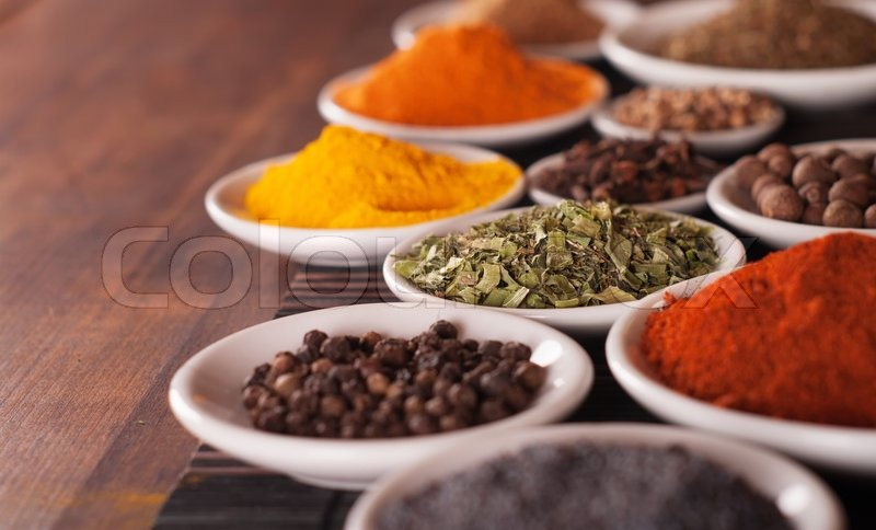 Various spices selection, stock photo