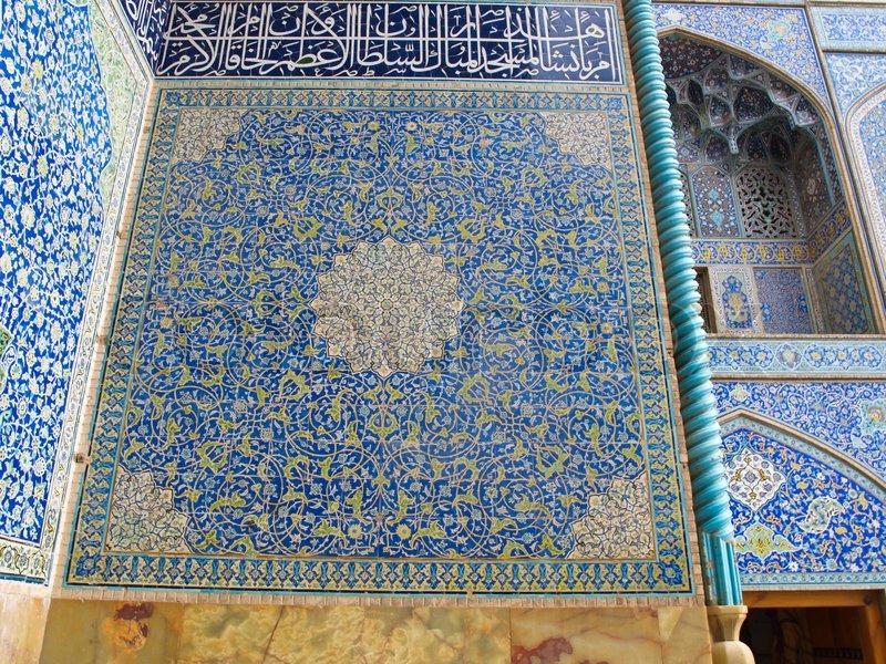 die moschee wand orientalische ornamente aus sheikh loft. Black Bedroom Furniture Sets. Home Design Ideas