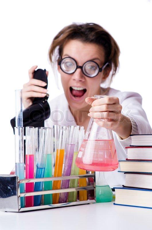 Woman chemist